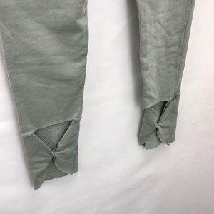 R+R surplus Pants - R+R Surplus French terry rollover  legging army